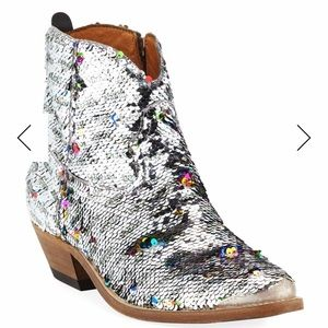 Golden Goose Young Sequin Boots